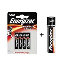 Батарея Energizer Alkaline Power 4+1xAAA