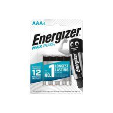 Батарея Energizer Max Plus 4xAAA