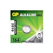 Батарея GP Alkaline 164F-2C10 1xAG1