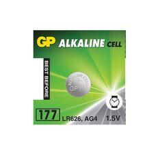 Батарея GP Alkaline 177F-2C10 1xAG1