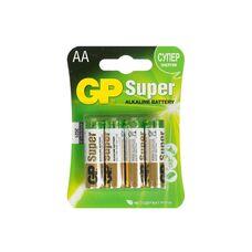 Батарея GP Super Alkaline 4xAA...