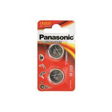 Батарея Panasonic Lithium Coin 2xCR2025