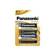 Батарея Panasonic Alkaline Power Dх2