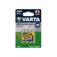 Батарея Varta Accu Power AAAx4 (перезаря...