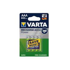 Батарея Varta Accu Power AAAx4 (перезаряжаемая)