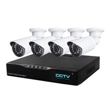 Система видеонаблюдения Techvision HVR-D4C4