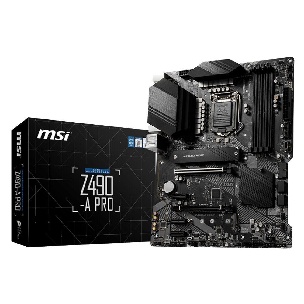 МП MSI Z490A Pro