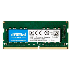 ОП для ноутбука Crucial 8ГБ DDR4-2666МГц